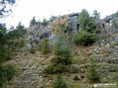 Cañones del Río Lobos y Valderrueda;senderismo el escorial cinta para mochila parque nacional de s